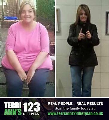 The Terri-Ann 123 Diet Plan Booklet and Membership