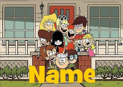 The Loud House Personalised Placemat