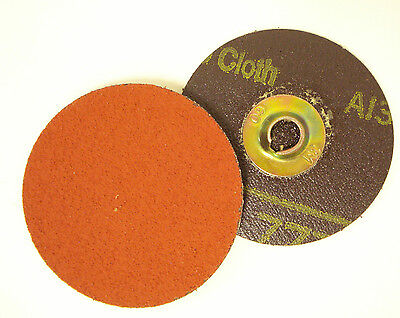"3M 50258 Roloc Discs, 3"" Dia., 60 Grit, Box of 50"