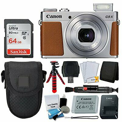 New Canon PowerShot G9 X Mark II Digital Camera (Silver)