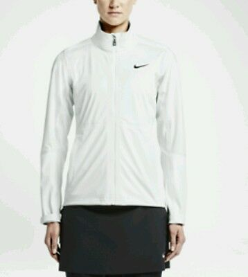 Nike Golf Storm Fit Golf Jacket (MEDIUM) Hyperadapt White New BNWT