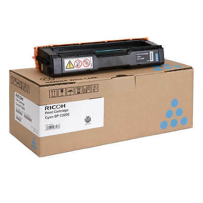 Genuine Ricoh 406097 Cyan Laser Printer Toner Cartridge