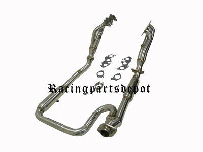 OBX Long Tube Exhaust Headers For 07 08 09 FJ Cruiser 4.0L  2WD 4WD