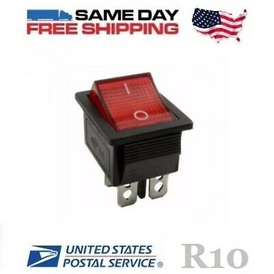 Power Switch for Ride on 6v Battery Toy Car Spiderman / BMW 4-Pin (ON-OFF) 20amp