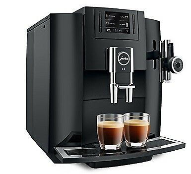 Jura E8 Black Coffee Machine - Pulse Extraction Process - E8