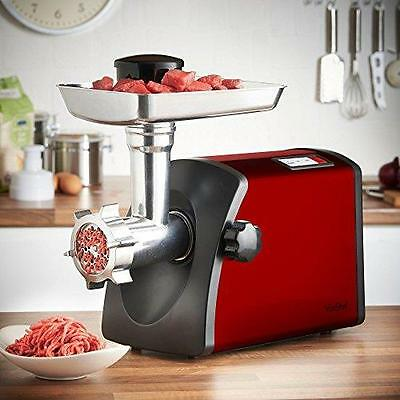 VonShef Heavy Duty Electric Meat Grinder Machine Sausage Mincer Maker Kitchen