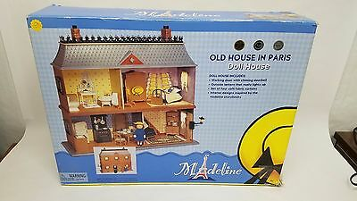 Rare Madeline Old House in Paris Doll House Brand New Free Shipping