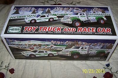 MIB-2011 Hess Toy Truck and Race Car