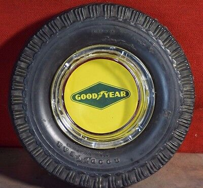 Goodyear Tire Ashtray All Weather Made In Canada 6.70-15 4 ply Super Cushion