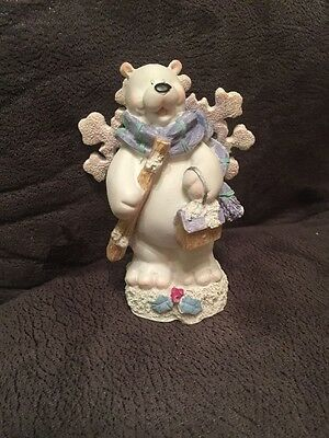 White Polar Bear Figurine.