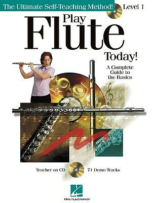 Play Flute Today! - Level 1 - Flute Music Book with CD