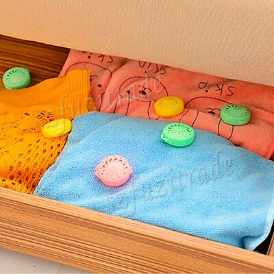 9PCS Fragrant Cedar Moth Balls Camphor Bug Repellent Wardrobes Drawers Closet