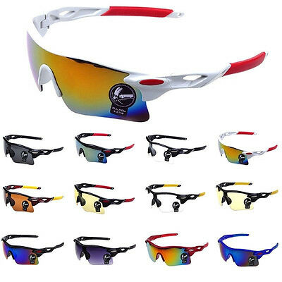Men's-Cycling-Sunglasses-Driving-Aviator-Outdoor-Sports-Eyewear-Glasses-UV400