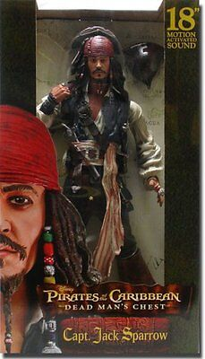 "Pirates of the Caribbean Jack Sparrow 18"" Action Figure"