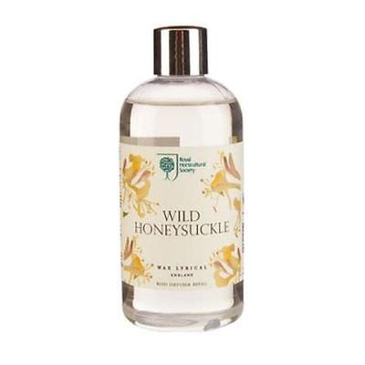Wax Lyrical Wild Honeysuckle RHS Fragrant Garden Reed Diffuser Refill 250ml FREE