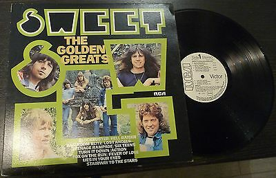 # Sweet THE GOLDEN GREATS  Italy 1977 Promo  (EX--/EX-)) LP-S00966