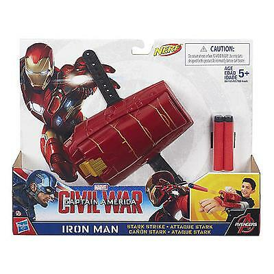 Marvel Avengers Mission Gear Iron Man Stark Strike Dart Blaster / Age 5+