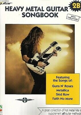 Partition pour guitare - Heavy Metal Guitar Method - Songbook 2B