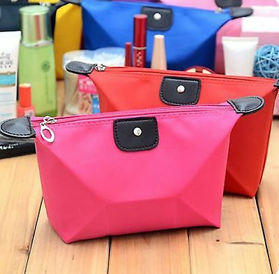 Makeup Cosmetic Bag Waterproof Travel Case Pouch Toiletry Zip Washbag Organisor