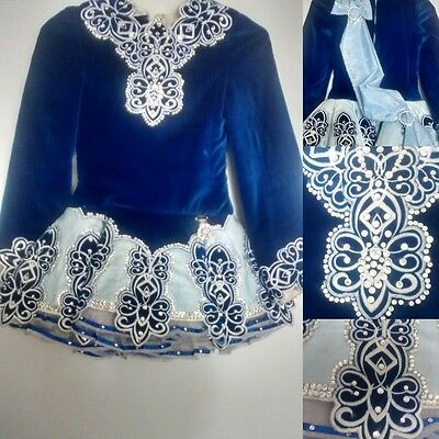 Irish Dance Solo Dress: Regal in Royal