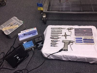 PRICE REDUCED Stryker TPS 5100 System-Additional Saber Drill and Attachments