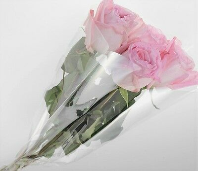 """CLEAR V SHAPE FLOWER PLANT SLEEVES IN PACKS  (50x25x10) """"SPECIAL OFFERS """""""