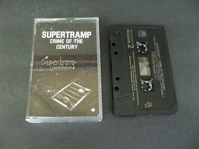 SUPERTRAMP CRIME OF THE CENTURY CASSETTE TAPE - Cassette Tape
