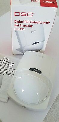 DSC LC-100PI Motion Detectors Digital PIR Detector With Pet Immunity NIB (1)