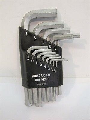 UST260072 ARMOR COAT Hex Key Set,13 Pieces