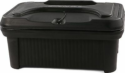 Carlisle XT160003 Cateraide Insulated Food Pan Carrier, Top Loading, 6'', Black