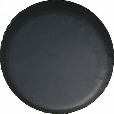 Lead waycompletely Black 14 Inch Wheel Spare Tire Cover Diameter 65cm