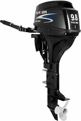 9.8 HP Outboard Motor  with Manual Start, Long Shaft