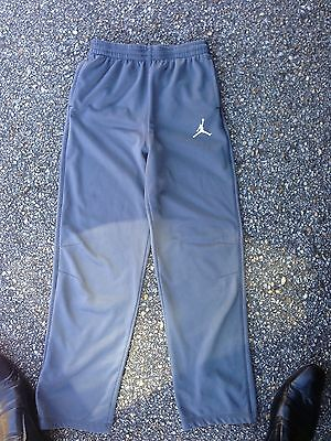 New Nike Air Jordan Brand Therma Fit Youth Pants Size Extra Large XL Gray Boys
