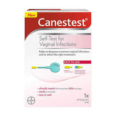 Canestest Self Test Easy Read For Vaginal Infections - private listing *UK STOCK