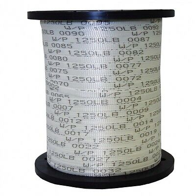 "Seconds 1/2"" x 5000' 1250 Lb Polyester Pull Tape / Mule Tape"