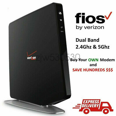 Verizon/Fios Gateway G1100 AC1750  Wireless Router Only W/ Cat5 Power Adapter