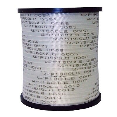 """Seconds 5/8"""" x 3000' 1800 Lb Polyester Pull Tape / Mule Tape"""