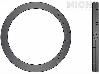 Spiral Retaining Ring Internal MD 4.33 Steel (8 Pieces)