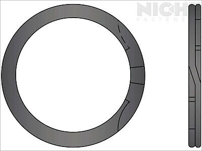 Spiral Retaining Ring Internal MD 2-5/8 Steel (40 Pieces)