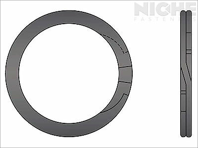 Spiral Retaining Ring External HD 3-1/8 Steel (3 Pieces)