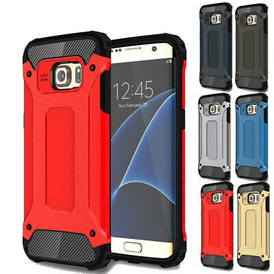 Luxury Heavy Duty Camera Protection Case For Samsung Galaxy S7 S6 Edge + Note 5