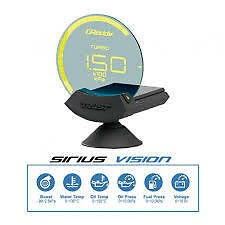 GReddy Sirius Vision Display (Turbo, Pressure, Temp) 16001720