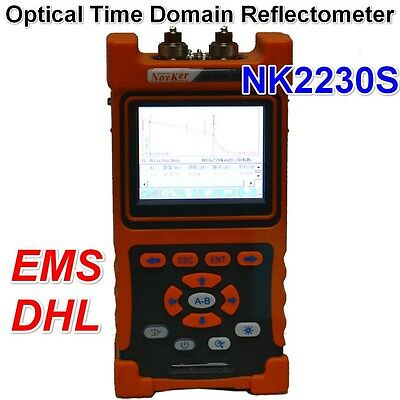 Newest NK2230S Hand-held OTDR Optical Time Domain Reflectometer by DHL/EMS