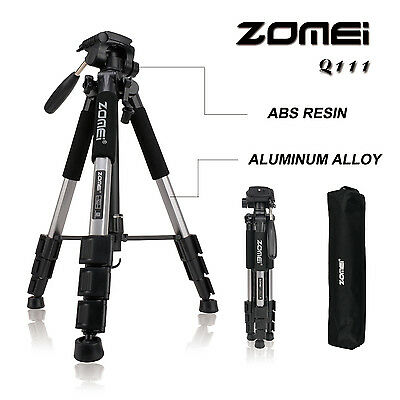 ZOMEI Q111 Professional Aluminium Portable Travel Tripod for Canon DSLR Camera