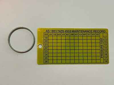 300 x Maintenance Tag and Ring Service Tag and Ring AS1851 New