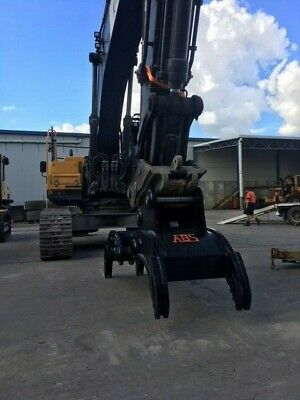Manual Rock Grab Attachment to suit Excavators