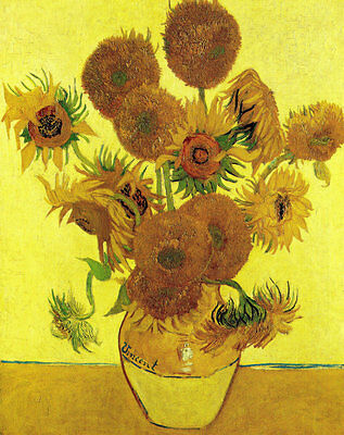 Wall art Home Decor Van Gogh painting sunflower Picture HD Printed on canvas 135