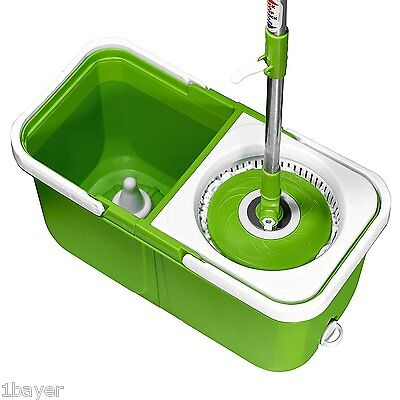 Big Boss Home House Kitchen Cleaning Instamop Spinning Action Mop