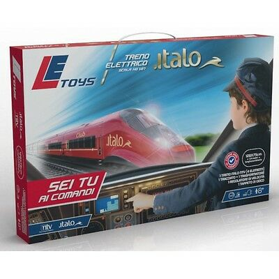 Italo Ntv Set Treno Elettrico Ho 1:64 Simple Pc Level Let13900