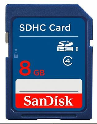 Genuine SanDisk 8GB SD Card SDHC SDXC Memory Card Class 4 8GB Digital Cameras